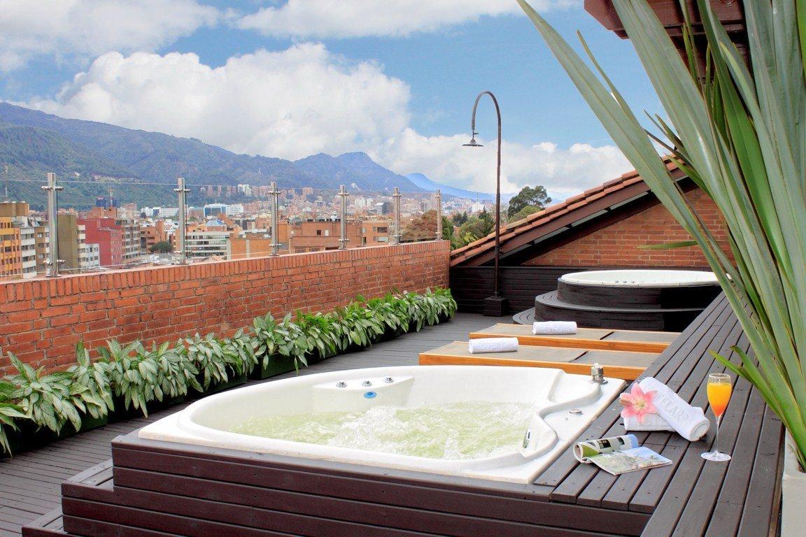 Servicios hotel estelar la fontana web oficial - Jacuzzi en terraza ...